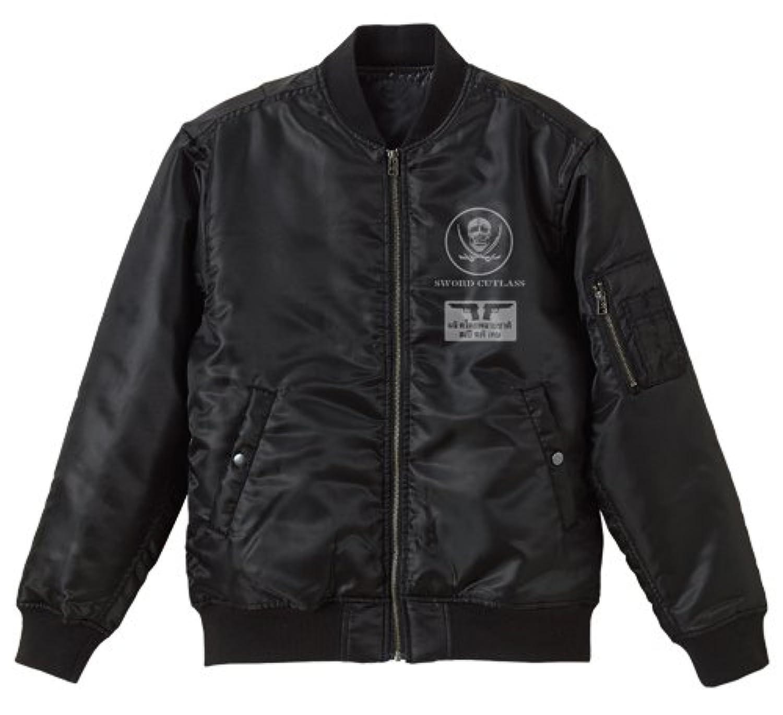 ブラックラグーン ラグーン商会 MA-1ジャケット ブラック Mサイズ