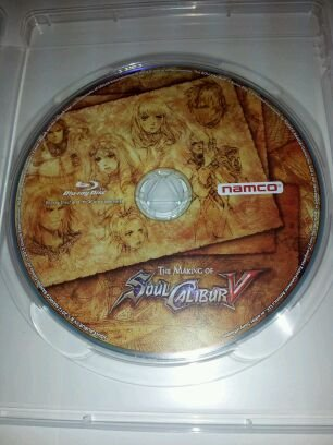 The Making of Soul Calibur V Collector's Edition Blu-ray