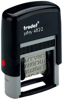 Trodat Printy 4822 Multi-woord Band Stempel 12 woorden 4mm print Ref 74046