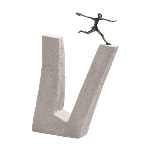 Wer Nicht wagt. - Kött-Gärtner Luise - Bronze Skulptur
