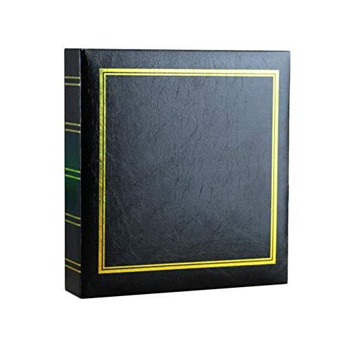 Healifty Álbum de fotos vintage 200 páginas Álbum de fotos de 6 pulgadas de memoria libro de recuerdos álbum de fotos para la fiesta familiar en casa