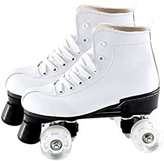 CUCM Quad Roller Skate,Men and Women Roller Skate Ladies Boy Girl Indoor and Outdoor Skates Suitable,Suitable for Beginner Men
