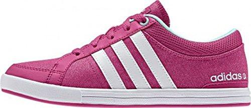 adidas - Skool K - F76446 - Colore: Bianco-Rosa - Taglia: 28 EU