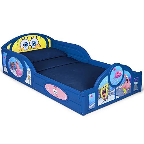 Spongebob Squarepants Plastic Sleep and Play Toddler Bed by Delta Children