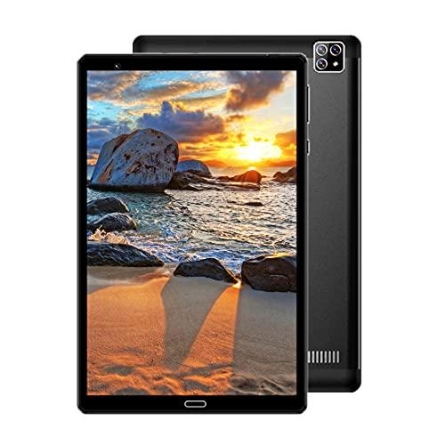 Tablet 8 Pollici, 4G+Wifi, 8-Core 64 GB di ROM+4 GB RAM,Fotocamera 8MP+5MP, Dual SIM SD, Type-C Tablet in Offerta Newmetab(Black)