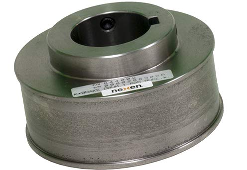Brake Drum - For Use With 12K Series Brakes, Unfinished Blank Bore, 0.0000-4.0000 in Bore, 1800 rpm, Shaft Inertia 465.10 lb-in², Bare Cast Iron Finish