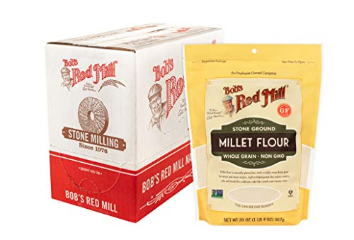 Bob's Red Mill Millet Flour, 20 Oz (Pack Of 4)