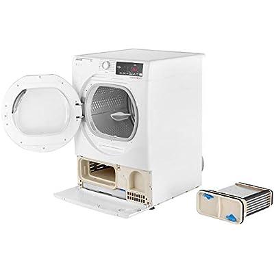 Hoover Dynamic Next Advance DXC9TCG 9Kg Condenser Tumble Dryer - White / Chrome