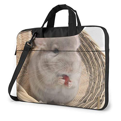 Lovely Chinchilla Laptop Tote Bag Compatible con Laptop de 13-15.6in Maletín con Correa para Llevar en el Hombro