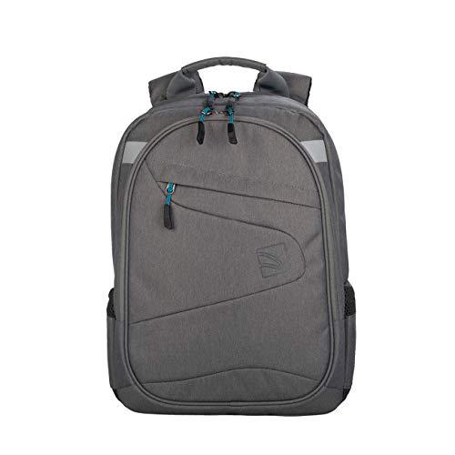 Tucano-Zaino Sportivo da Lavoro per pc da 13 e 14 Pollici e MacBook 13 . Tasche Imbottite per Laptop, Tablet e iPad. Backpack Lato2, Anche Nero, da Donna e da Uomo, Ideale per Ufficio e università