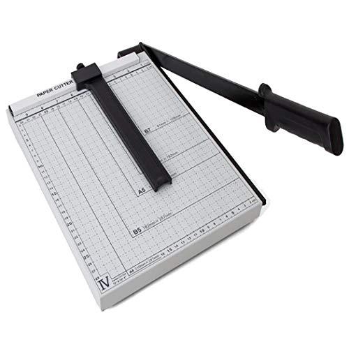 Imposes A2-B7 Hebelschneider Papierschneider, Fotoschneider mit Positionierhilfe, Papierschneidemaschine Schneidegerät Paper Cutter