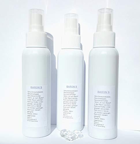 Baron's geurneutraliserende frisse geur voor uw kledingkast - kast - winterspullen. Je wasgoed stinkt? Hout muffelig neutraliseert geuren - geur verwijderen - neutraliseren