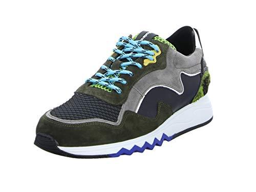 Floris van Bommel heren Sneaker Green 16092/08 groen 761789