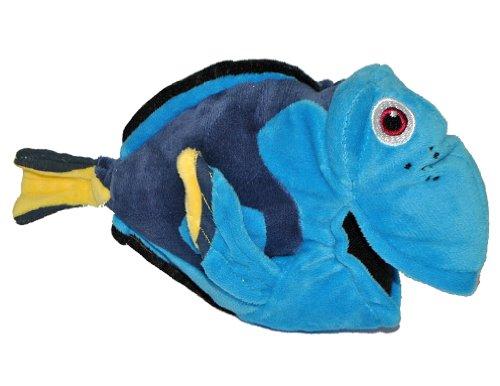 alles-meine.de GmbH Plüschtier Blauer Fisch  Dory Dorie  - Findet Nemo 22 cm Plüsch - Paletten Doktorfisch Stoffpuppe Jungen Mädchen Samt Fisch