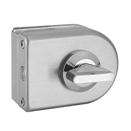 serratura porta in vetro senza telaio in acciaio inossidabile semicerchio a cerniera senza –...