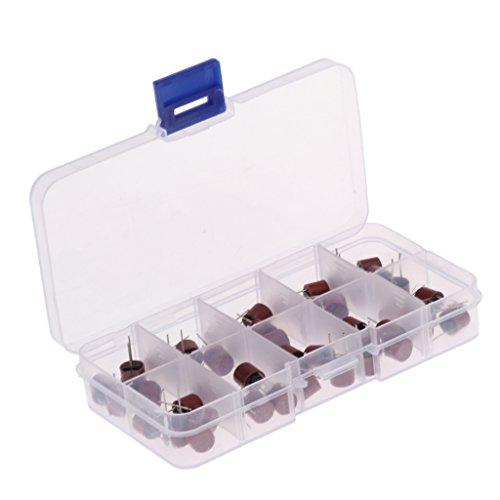 50pcs / Set ABS Sicherung Sortiment Kit Miniatur TR5-Serie 250V Micro Fuse / Sicherung Träge für Computer-Systeme