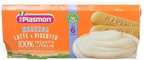 Plasmon Merenda Latte e Biscotto - 2 x 120 gr