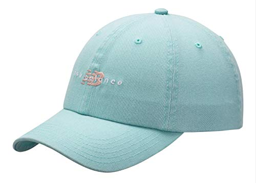 New Balance Men's and Women's Classic Textured Poly Knit Training and Coaches 6 Panel Hat, Adjustable Twill Cap