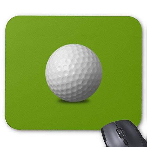 Mauspads Golfball Vektor Symbol Grafik Grüne Weiße Sportmaus Matte