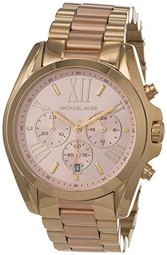 Michael Kors Orologio Cronografo Quarzo Donna con Cinturino in Acciaio Inossidabile MK6359