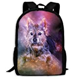 Dog Pet Small Canine Print Custom Unique Casual Backpack School Bag Travel Daypack Gift
