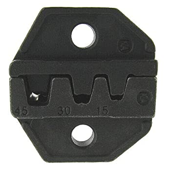 Valley Enterprises Replacement Crimper Die for Anderson Powerpole Connectors 15 30 and 45AMP Replacement for Ratcheting Crimping Tool # DL-530N