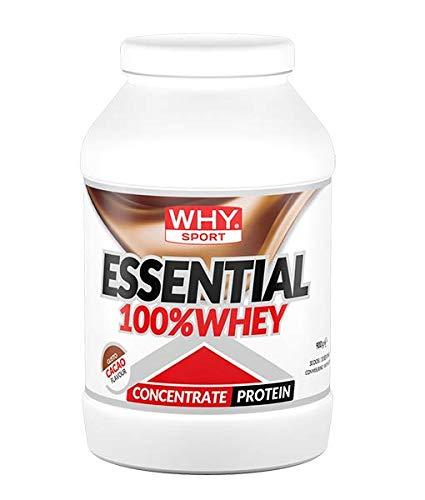 Why Sport Essential 100% Whey Gusto Cacao 900 Grams 30 porzioni