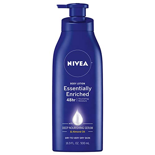 NIVEA Essentially Enriched Moisturizing Lotion perfect for bald heads