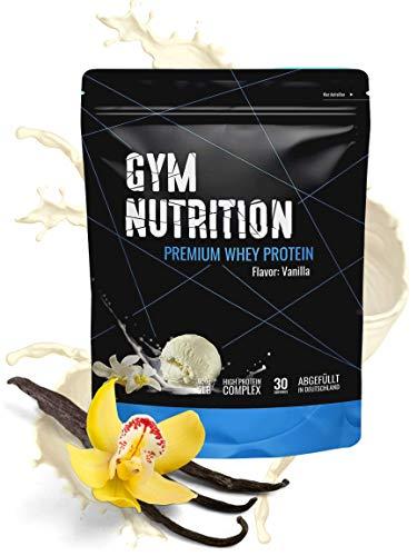 Premium Whey Protein - Eiweiß-pulver - Für den Muskelaufbau - Laborgeprüft - In Deutschland abgefüllt - Mit Ernährungsprofis entwickelt - 30 Portionen - Reich an EAAs und BCAAs (Delicious Vanilla)