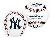 RAWLINGS Pelota de béisbol con Logo de MLB, MLB, Color Blanco, tamaño Official