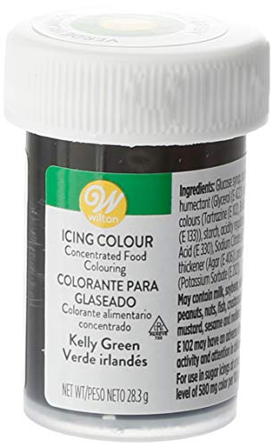 Wilton Colorante Alimenticio para Glaseado en Pasta, 28.3g, Color Verde Kelly, 04-0-0046