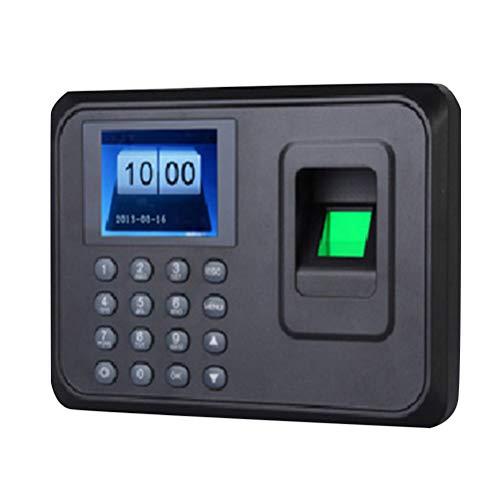 Vosarea huella digital contraseña hora reloj pantalla lcd máquina de asistencia de empleados lector de registro registrador de nómina para negocios