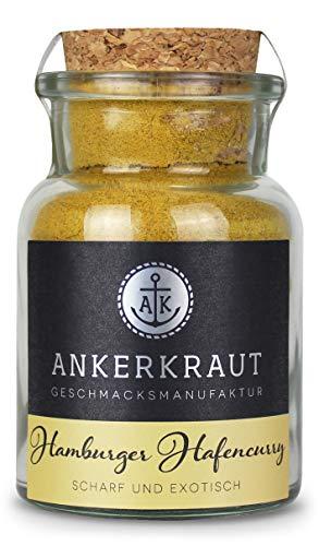 Ankerkraut, Hamburger Hafencurry, für Currys, Geflügel, Reis oder Hummus, 60g im Korkenglas