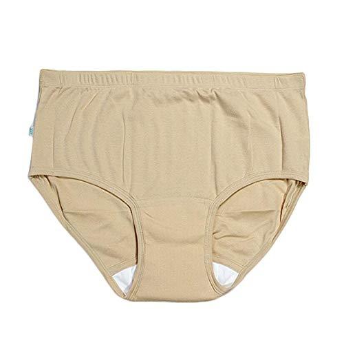 QQA Mujer Incontinencia Bragas súper Absorbente Pantalones Fisiológico Salud Prueba de Fugas Bragas,XXL