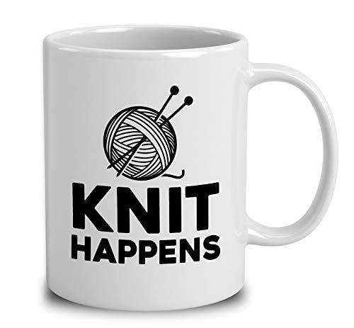 Knit Happens Coffee Mug...