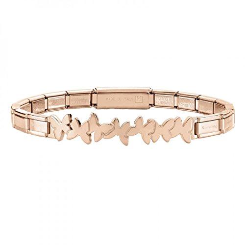 Nomination Damen-Armband Trendsetter Edelstahl 18 cm - 021111/004