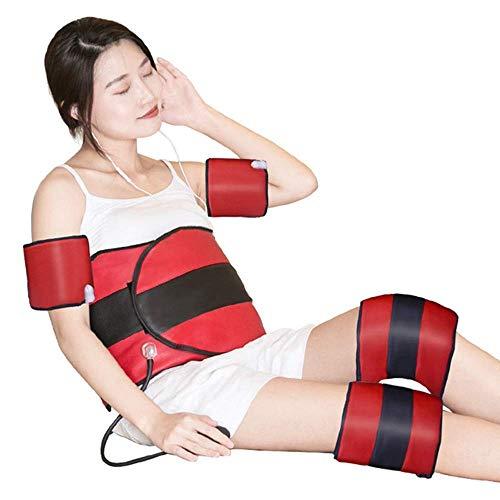 HAOHAODONGG Abnehmen Gewichtsverlust Gürtel schlank dünne Taille dünner Arm dünner Arm Instrument Vibrationsheizung dreiteilige Luftdruckminderer Massagegerät