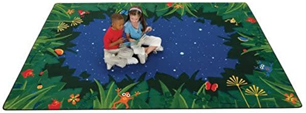 Carpets For Kids Peaceful Tropical Night 8 X 12