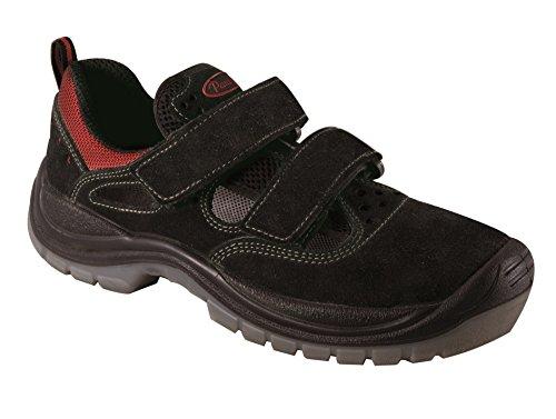 Panther 2707115LA_43 Ulisse S1P - Zapatillas de Trabajo, Talla 43, Color Negro