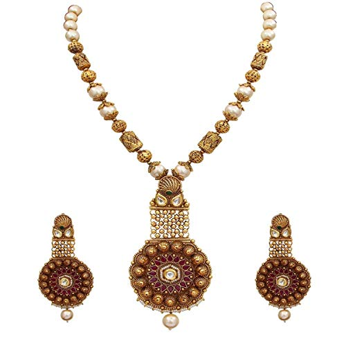 JewelryOnClick Público profesional. Personas consumidores chapado en oro-cobre Rubí, cristal, perla