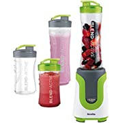 Breville VBL096 Blend-Active Personal Blender Family Pack - White/Green