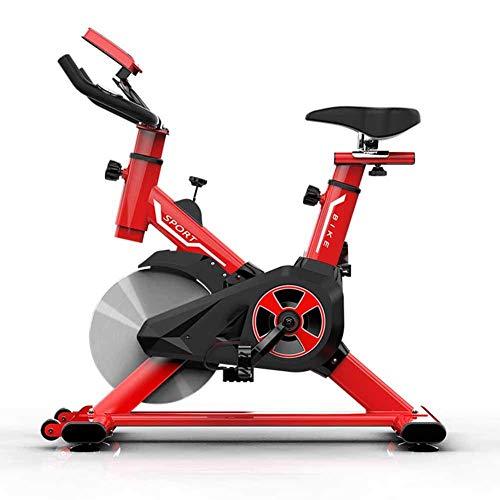 SISHUINIANHUA Exercice Sportif vélo vélo Spinning équipement de Fitness à Domicile pour Hommes et Femmes Amincissant Les Jambes,Red