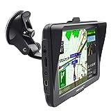 ポータブルカーナビ カーナビ 7インチ 車載GPS 2019年最新地図搭載 ラジオ内蔵 オービス警告 ナビ 高解像度LED 液晶パネル 12V・24V車対応