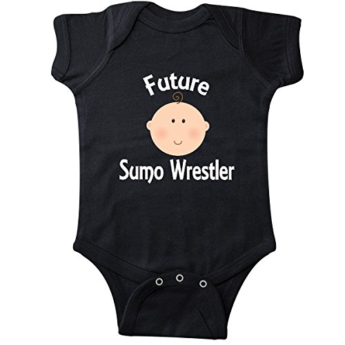inktastic Future Sumo Wrestler Gift Infant Creeper 6 Months Black 26f2a