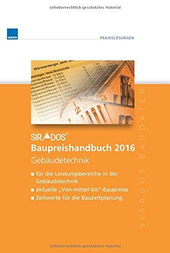 sirAdos-Baupreishandbuch 2016: Gebäudetechnik