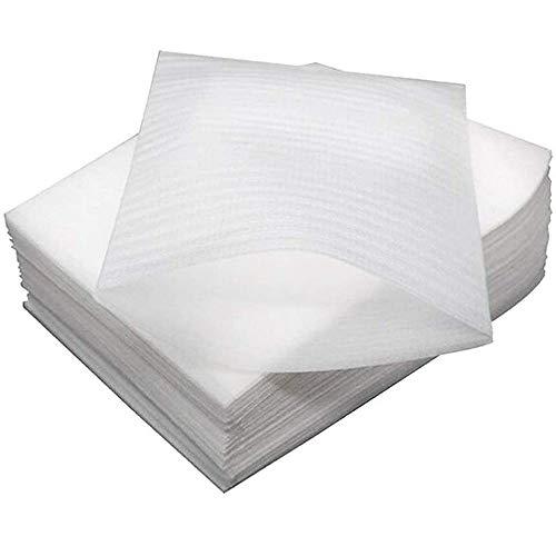 200 Piezas Plástico de burbujas, Espuma de Embalaje, Bolsas de espuma acolchadas para Proteger Platos Vasos Porcelana Artículos Frágiles Suministros de Envío