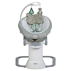 in budget affordable Graco EveryWay baby swing sucker, removable locking chair, Tristan