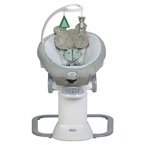 Graco EveryWay Soother Baby Swing with Removable Rocker, Tristan