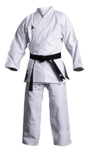 Adidas K380J Elite Karate Gi Japanese Cut Junior