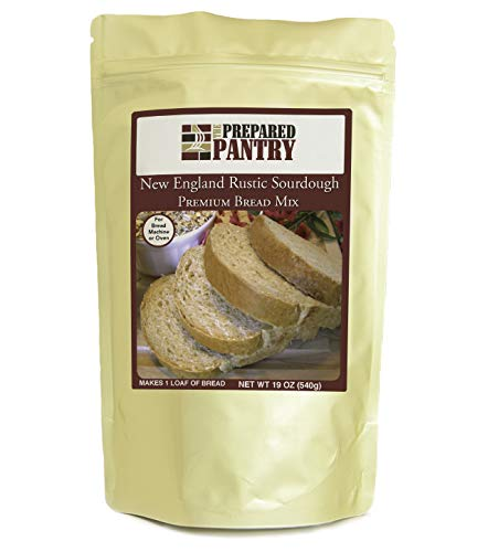 The Prepared Pantry New England Rustic Sourdough Bread Mix; Single Pack; For Bread Machine or Oven